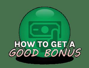 How to get a good slots bonus