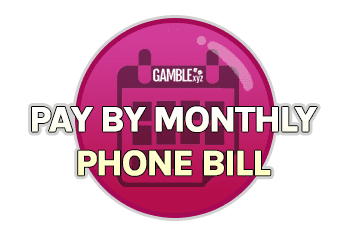 Pay by monthly phone bill
