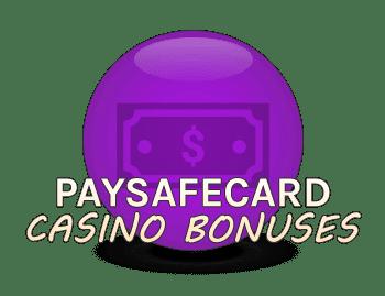 Paysafecard casino bonuses