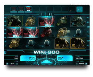 Aliens NetEnt Casino Game