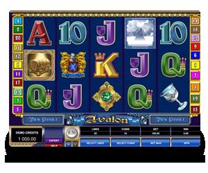 Avalon Microgaming Slot