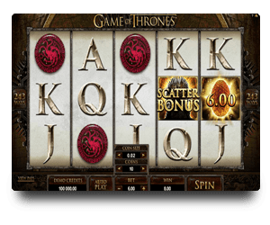 Game of Thrones Microgaming Game