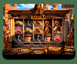Lost slots game
