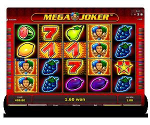 Mega Joker Novomatic Slots Game