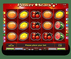Power Stars Slot Machine